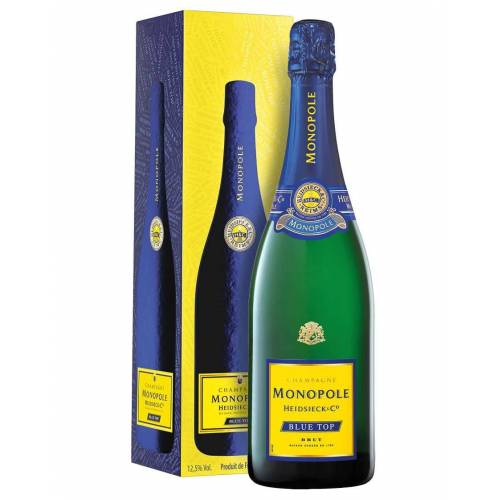 Heidsieck & Co. Monopole Champagne Brut AOC Blue Top Heidsieck & Co. Monopole 0,75 ℓ, Flaschenetui