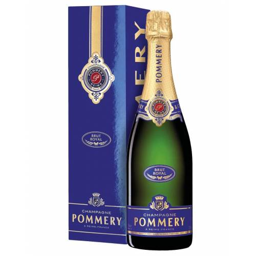 Pommery Champagne Brut AOC Royal Pommery 0,75 L, Flaschenetui