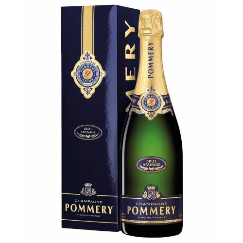 Pommery Champagne Brut AOC Apanage Pommery 0,75 L, Flaschenetui