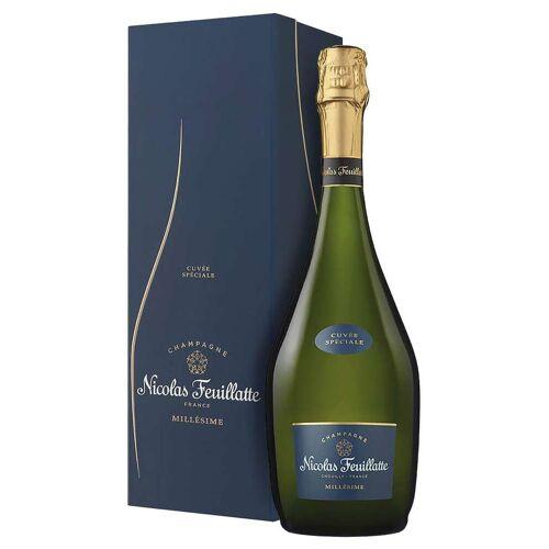 Nicolas Feuillatte Champagne AOC Cuvée Spéciale Nicolas Feuillatte 2014 0,75 ℓ, Flaschenetui