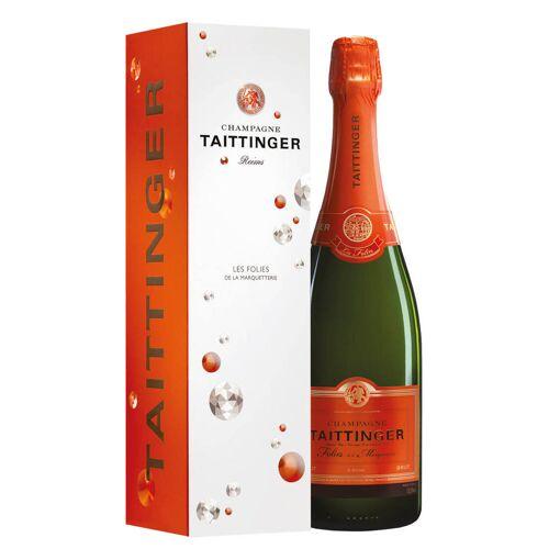 Taittinger Champagne Brut AOC Les Folies de la Marquetterie Taittinger 0,75 ℓ, Flaschenetui