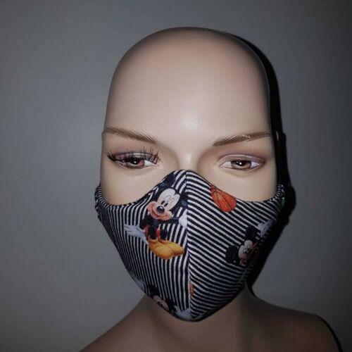 KDG Kindermaske aus Baumwolle mit Micky Maus