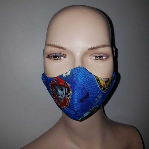 KDG Kindermaske mit Hundemotiv - 3 Lagig