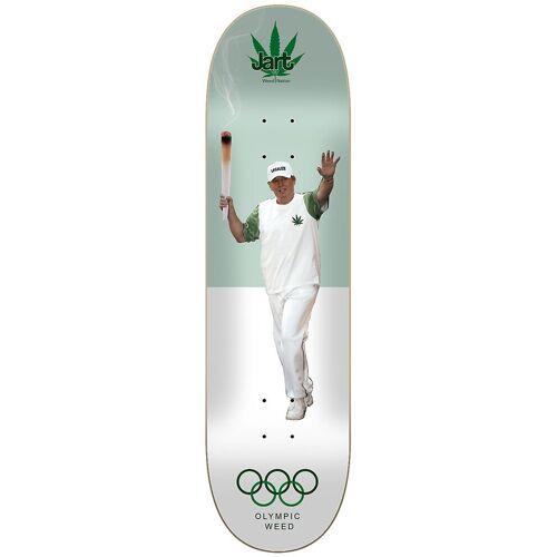 Jart Weed Nat Olympic Weed 8.5 Skateboard Deck uni Uni