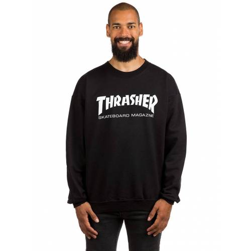 Thrasher Skate-Mag Crewneck Sweater black XL