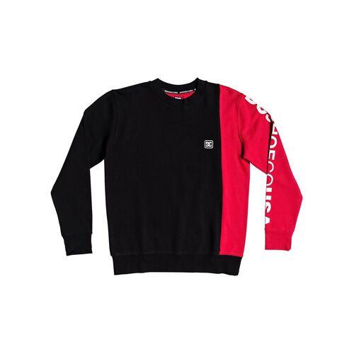 DC Wepma Crew Sweater black/racing red S