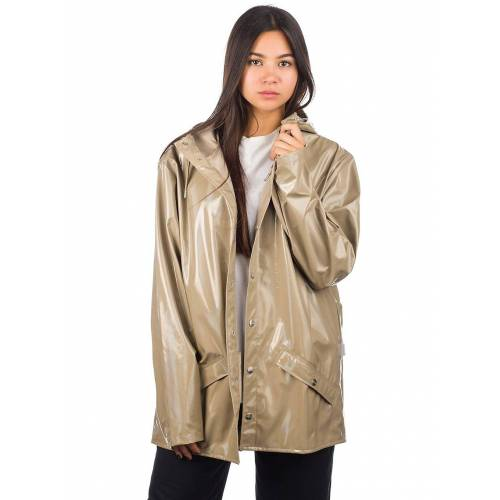 Rains Holographic Jacket holographic beige ML