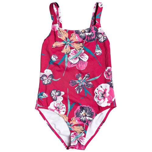 Roxy Little Wanderer Bikini cerise pansies s T14