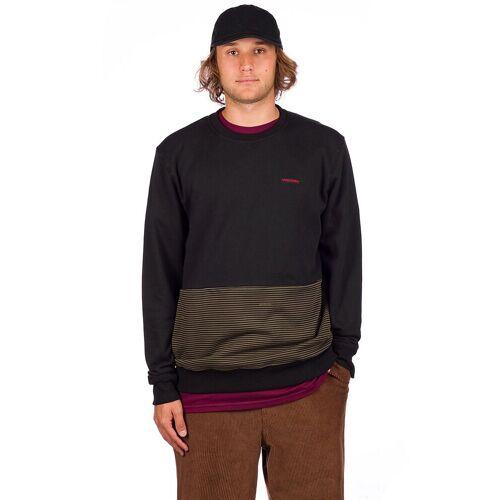 Volcom Forzee Crew Sweater military L