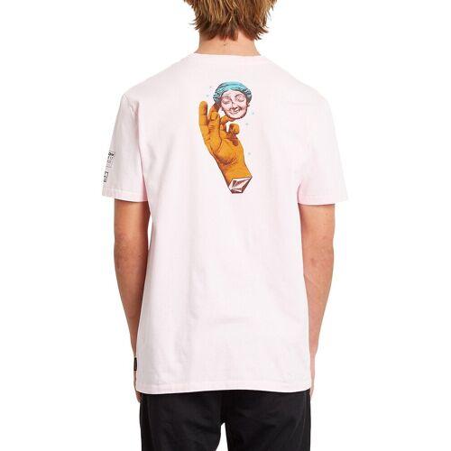 Volcom Max Loeffler Fa T-Shirt snow pink M