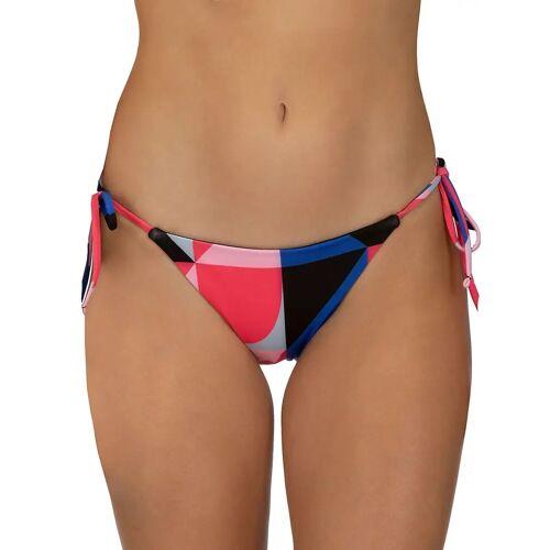 Hurley Rvsb Geo Tie Bikini Bottom red orbit S