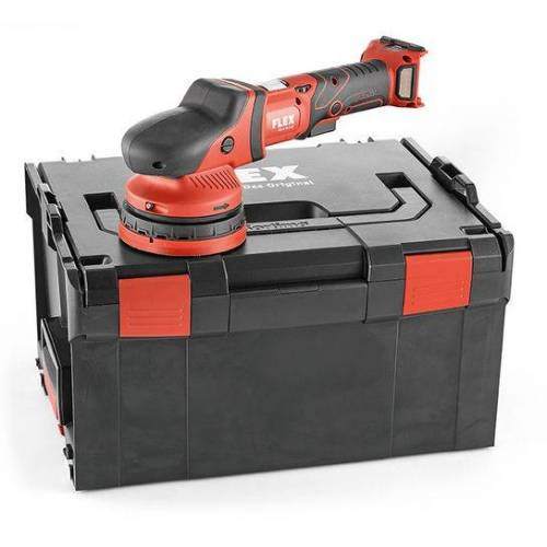 Flex-tools XCE 8 125 18.0-EC Akku-Exzenterpolierer mit Zwangsantrieb 18,0 V