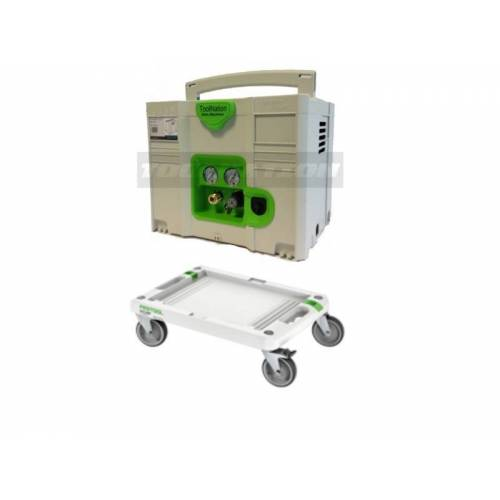 Toolnation SysComp 150-8-6 Compressor in Festool Systainer Limited Edition + RB-SYS Systainer Cart