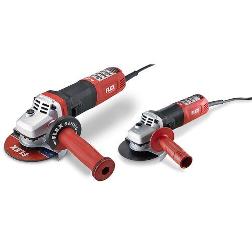 Flex-tools LBE 17-11 125 Winkelschleifer 125 mm 1700 Watt + L 12-11 125 Winkelschleifer 125 mm 1200 Watt