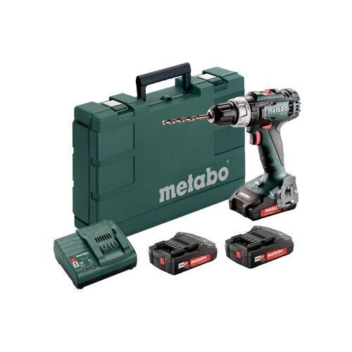 Metabo 602321540 BS 18 L SET Akku Bohrer 18 Volt 3 x 2.0 Ah Li-ion