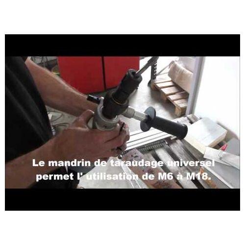 Jepson GSMPRO M18 Elektrischer Gewindebohrer für Sacklöcher