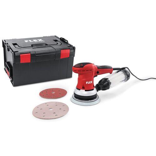 Flex-tools 150-5 Set Exzenterschleifer mit Drehzahlregelung im Set 150 mm
