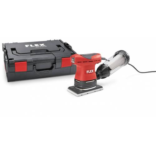 Flex-tools OSE 80-2 Set Schwingschleifer mit Drehzahlregelung im Set 200 Watt 80 x 130 mm
