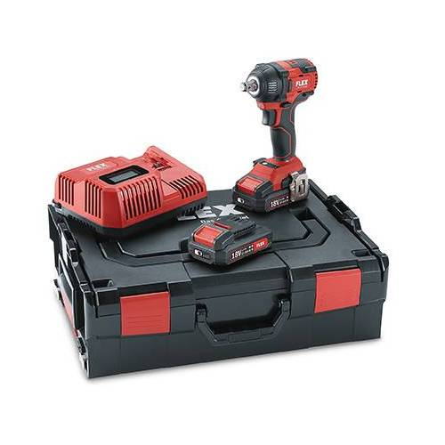 "Flex-tools IW 1/2"" 18.0-EC/2.5 Set, Akku-Schlagschrauber 18,0 V"