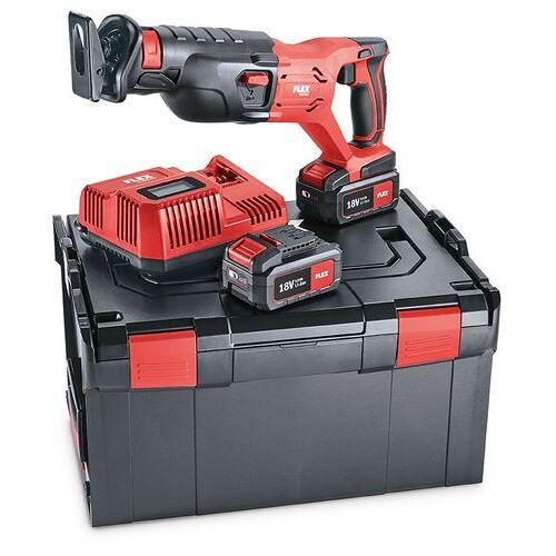 Flex-tools RS 29 18.0/5.0 Set Akku-Säbelsäge 18 Volt 5.0 Ah Li-ion