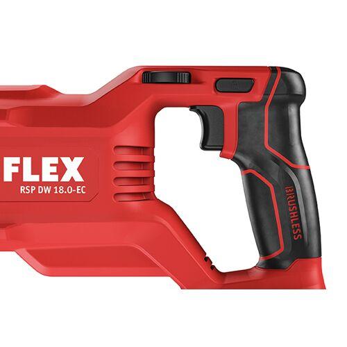 Flex-tools RSP DW 18.0-EC/5.0 Set Akku-Säbelsäge mit Pendelhub 18 Volt 5.0 Ah Li-ion