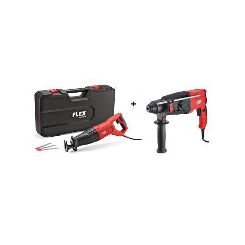 Flex-tools RS 11-28 Säbelsäge + CHE 2-28 Bohrhammer