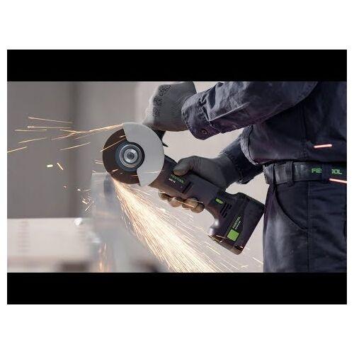Festool Akku-Winkelschleifer AGC 18-125 Li 5,2 EB-Plus
