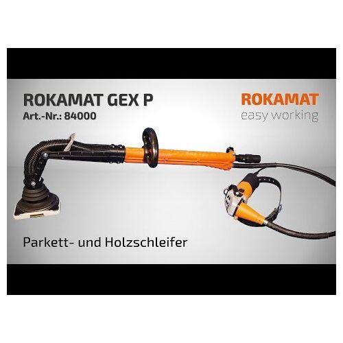 Rokamat 84000 Gex P Parkett- und Holzschleifer