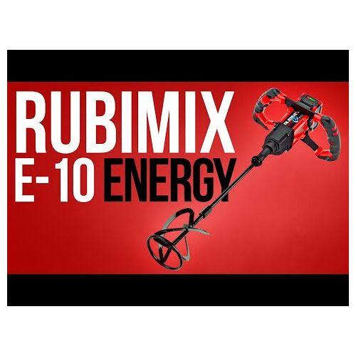 Rubi 26965 Rubimix E-10 Energy Akku Rührgerät 18 Volt 5.0 Ah li-ion in Koffer
