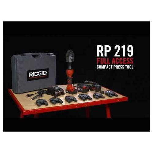 Ridgid 69093 RP-219 Presswerkzeug + V15-22-28 Backen