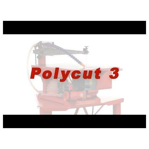 Hegner Polycut 3 Dekupiersäge Vierstufiger mit Keilriemenantrieb 700, 1100, 1270, 1600 U/min