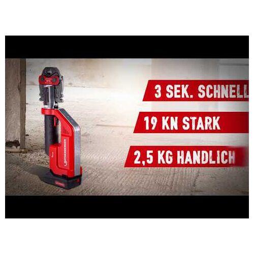 Rothenberger 1000002288 ROMAX Compact TT, M 15-22-28 + DD60 Akku-Bohrschrauber