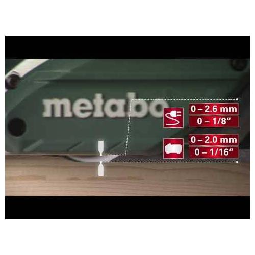Metabo HO 18 LTX 20-82 Akku-Hobel 18V ohne Akku oder Ladegerät 602082840