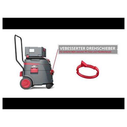 Starmix 018621 iPulse L-1635 TOP Baustellen Staubsauger