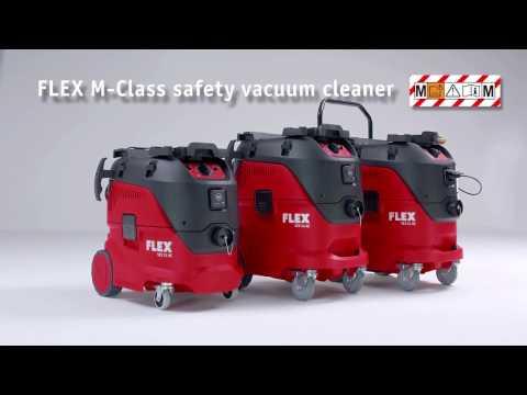 Flex-tools VCE 44 H AC, Sicherheitssauger mit automatischer Filterabreinigung, 42 l, Klasse H