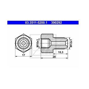 ATE Adapter für Bremsleitung