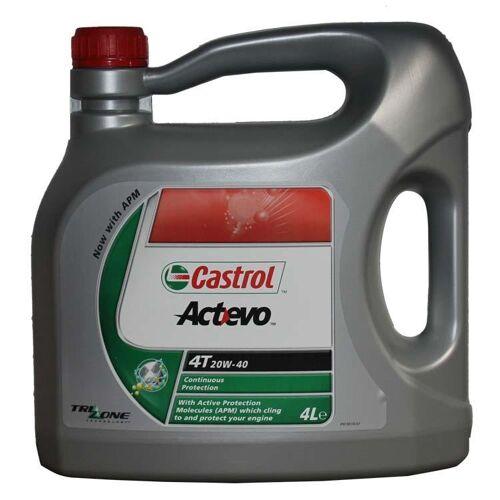 CASTROL Motoröl Castrol Actevo 20W40 4 Liter
