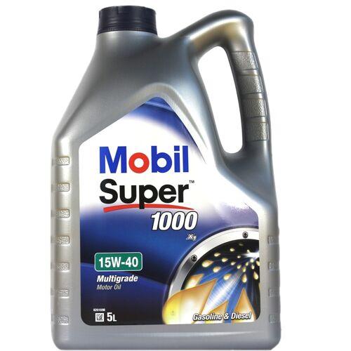 EXXON MOBILE 5 Liter Mobil Super 1000 X1 15W-40 Motoröl