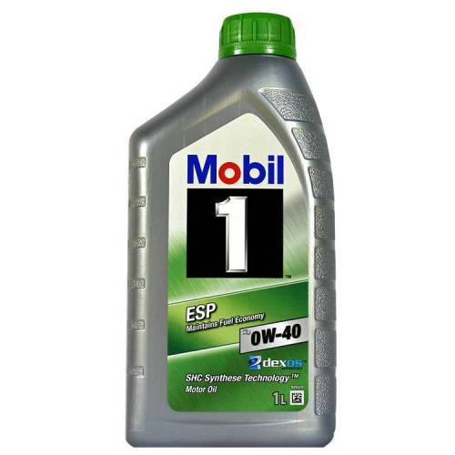 EXXON MOBILE 1 Liter Mobil 1 ESP 0W-40 Motoröl