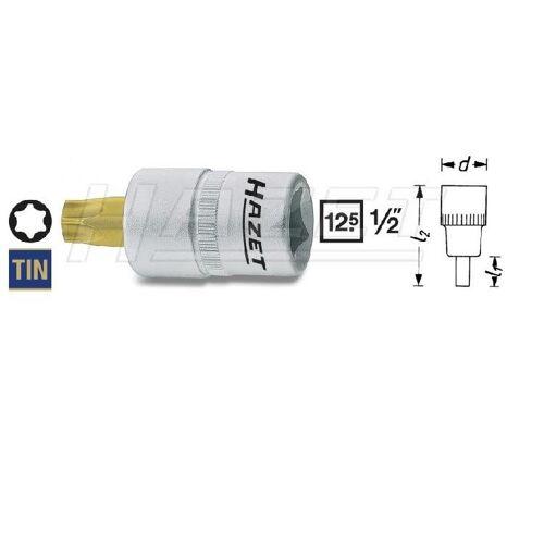 Hazet 1/2 Zoll Schraubendreher-Einsatz TORX® T30