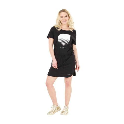 Lotus Picture W Lotus Dress Black Damen L