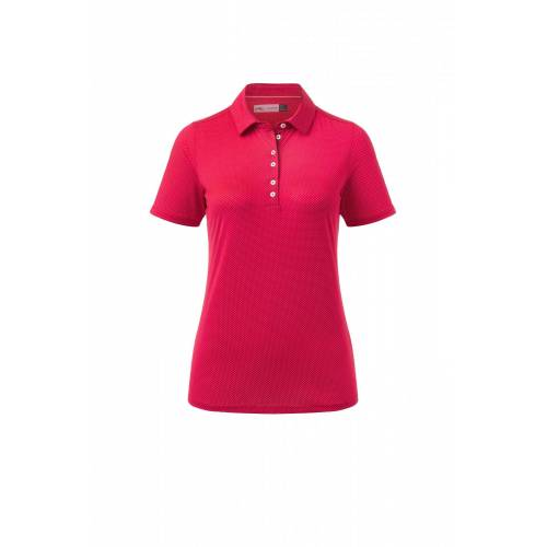 Kjus Women EVE Polo S/S Jalapeno Red Damen 38