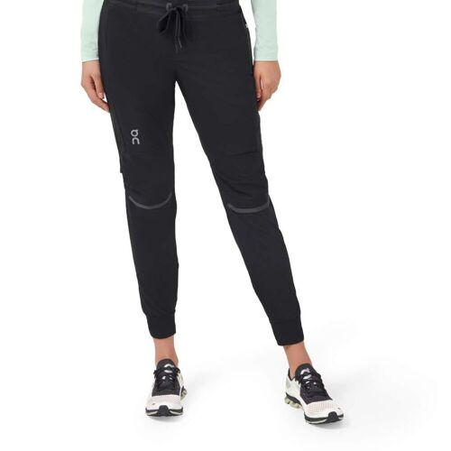 On Running W Running Pants Black Damen L