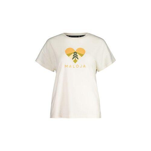 Maloja W Klappertopfm. T-Shirt Vintage White Damen XS