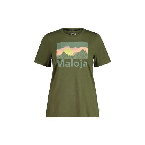 Maloja W Leinblattm. T-Shirt Moss Damen XS