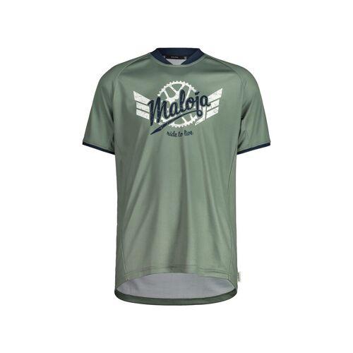 Maloja M Palinm. Multi 1/2 T-Shirt Cypress Herren S