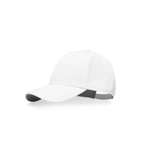 Kjus Unisex Classic Cap Cresting White Unisex One Size