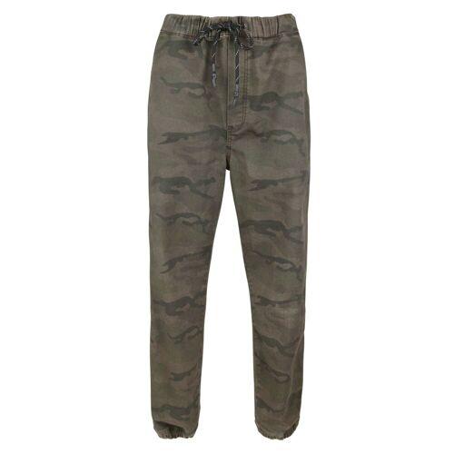 Alprausch M Wanderhose Pants Green Camouflage Herren S