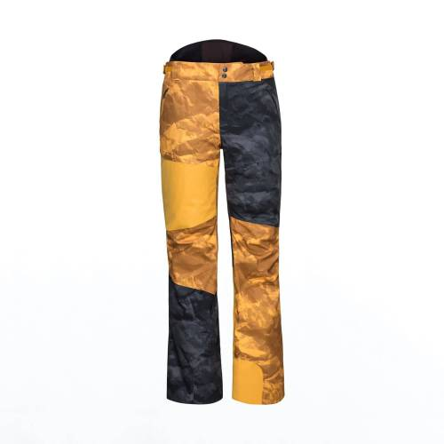 Head M Force Pants Crinkle Camo Black - Crinkle Camo Yellow Herren XXL