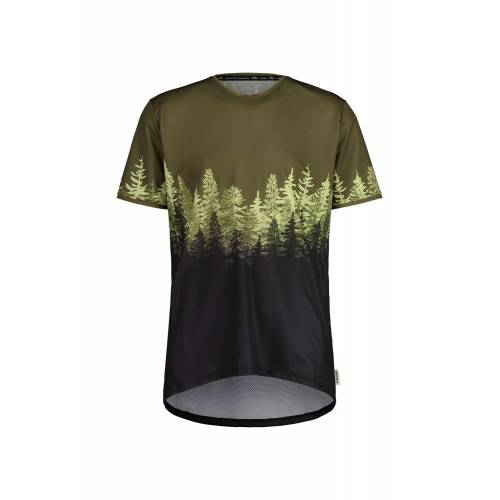 Maloja M Drachenkopfm. Multi 1/2 T-Shirt Moss Multi Herren L